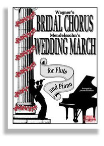 Bridal Chorus & Wed March For Flute & Piano
