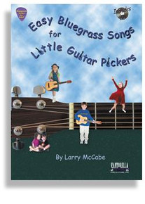 Bluegrass Songs for Little Guitar Pickers with CD