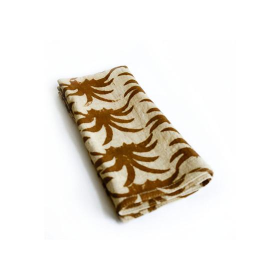 Gold napkins