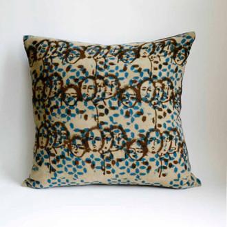 faces unique pillow