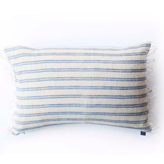 Blue Boudoir Pillow Cover