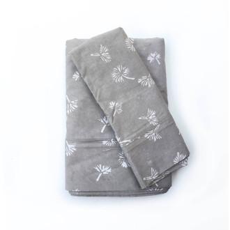 Dandelion Gray Bedsheet Set (on sale)
