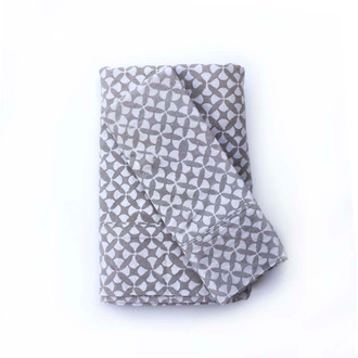 Geo Star Gray Bedsheet Set