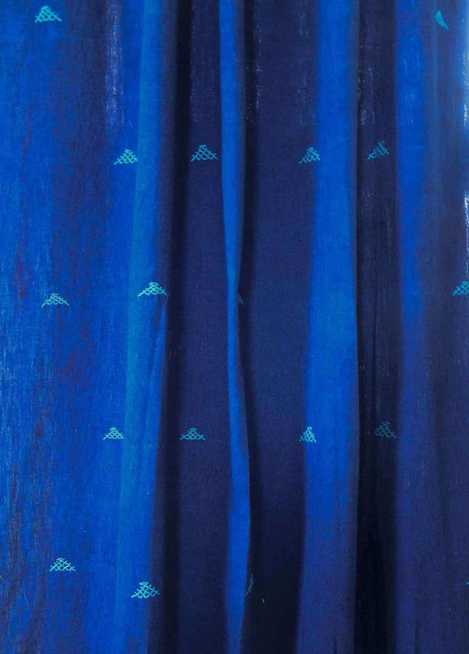 x v pair calecca treatment tailored blue curtains curtain window p indigo