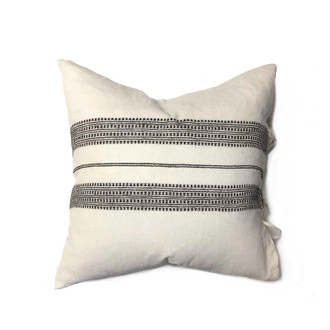 organic decorative pillow