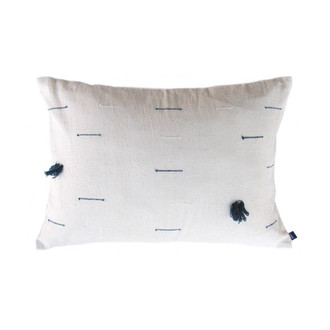 lumbar organic white pillow