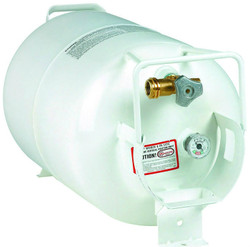 30 lbs (7.5 Gallon) Manchester Horizontal Propane Tank with Gauge