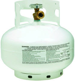 11 lb, 2.5 gallon Manchester Low Profile Propane Tank