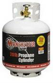 20 lbs (5 Gallon) Manchester Propane Tank without Gauge