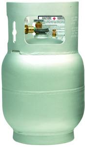 20 lbs (5 gallon) Aluminum Buffer Burnisher  Cylinder