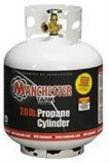 20 lb (5 gallon) Manchester Propane Tank with Gauge