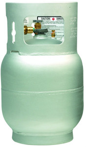 20 lbs (5 Gallon) Manchester Aluminum Propane Buffer Burnisher Tank with OPD