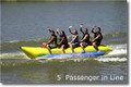 5 person banana boat