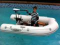 """Delphinus DA 230 (7'6"""") Inflatable boat"""