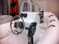 Deluxe fiberglass boat console