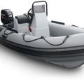 2018 INMAR Rescue Series 470 Console hypalon RIB with Suzuki 40 hp EFI outboard