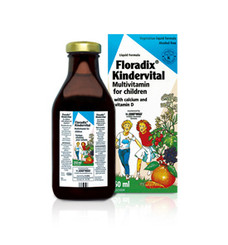 Kindervital Liquid Multivitamin for Children with Calcium and Vitamin D 250ml