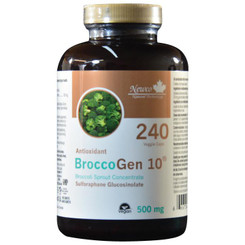BROCCOGEN 10® SULFORAPHANE GLUCOSINOLATE 240 VEGETABLE CAPS