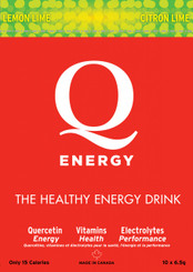 Q-ENERGY LEMON LIME 10 PACK