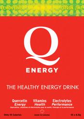 Q-ENERGY ENERGY DRINK LEMON LIME