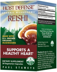 Host Defense Reishi Capsules 30 caps