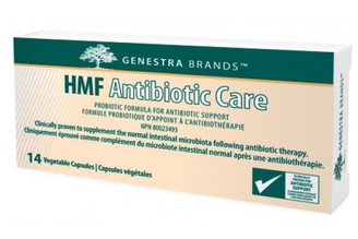 Probiotic specifically formulated for use following antibiotic therapy. Ideal for short-term intensive therapy, containing 100 billion CFU (Colony Forming Units) per capsule.