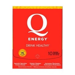 Q Energy - All Natural Sport Performance and Healthy Energy Drinks made with Quercetin