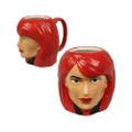 Black Widow Sculpted Ceramic Coffee Mug (GLSWBWIDOW)