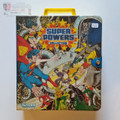 DC Super Powers Action Figure Carry Case Vintage 1984 Kenner