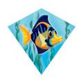 "MiniDiamond 18"" Angelfish Nylon Kite Wind-N-Sun w/ Line Winder & Handle (WS70251)"
