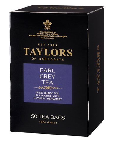 Taylors of Harrogate Earl Grey English Style Teabags 50