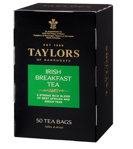 Taylors of Harrogate Irish Breakfast Teabags 50