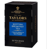 Taylors of Harrogate Scottish Breakfast Teabags 50 ct