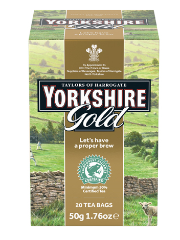 Taylors of Harrogate Yorkshire Gold 20