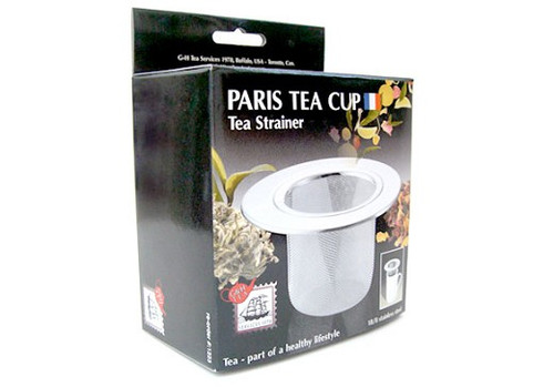 Paris Tea Cup Strainer SS
