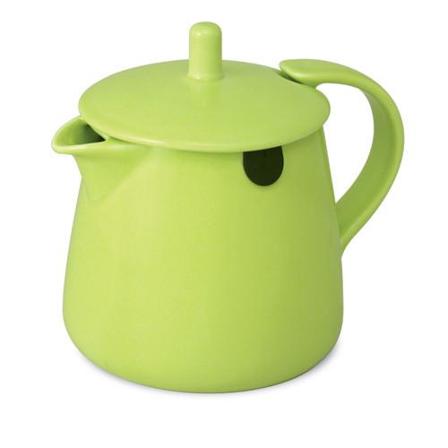 Teabag Teapot Lime Green