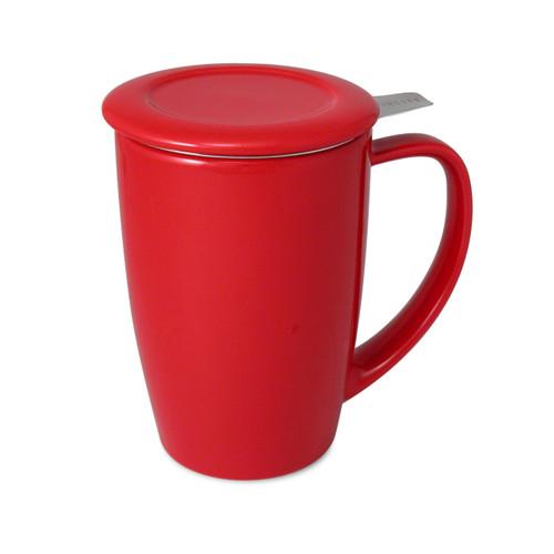 Curve Tea Mug 15oz - Red