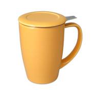 Curve Tea Mug 15oz - Mandarin