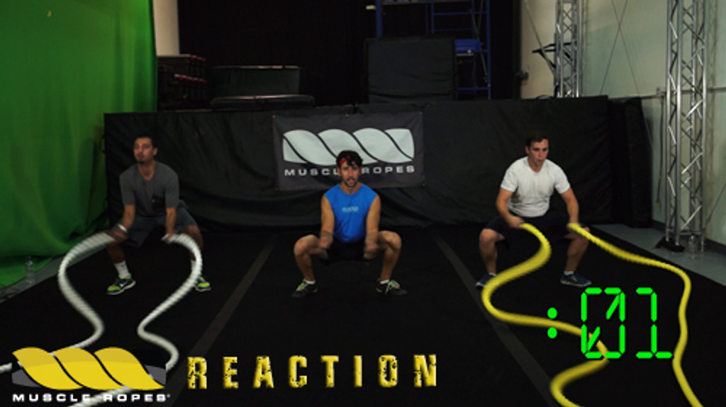 Muscle Ropes Reaction Series Workout Videos - Digital Download