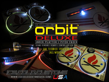 ORBIT DELUXE LED KIT (SOUND SENSING/MULTI-COLOR/REMOTE/ UNDER  PLATTER and PITCH)