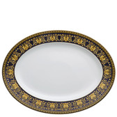 VERSACE MEDUSA BLUE PLATTER MEDIUM