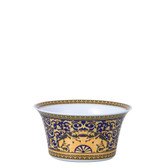 VERSACE MEDUSA BLUE VEGETABLE BOWL OPEN