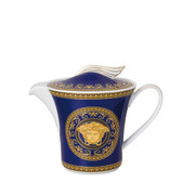 VERSACE MEDUSA BLUE TEA POT