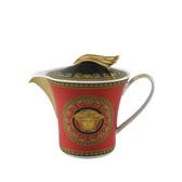 VERSACE MEDUSA RED TEA POT