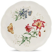 LENOX BUTTERFLY MEADOW DINNER PLATE FRITILLARY