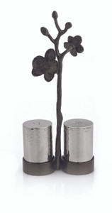 MICHAEL ARAM BLACK ORCHID SALT & PEPPER SET