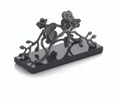MICHAEL ARAM BLACK ORCHID VERTICAL NAPKIN HOLDER