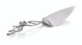 MICHAEL ARAM WHITE ORCHID CAKE SERVER