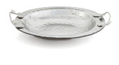 MICHAEL ARAM BOTANICAL LEAF GLASS BOWL LARGE