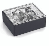 MICHAEL ARAM BOTANICAL LEAF JEWELRY BOX